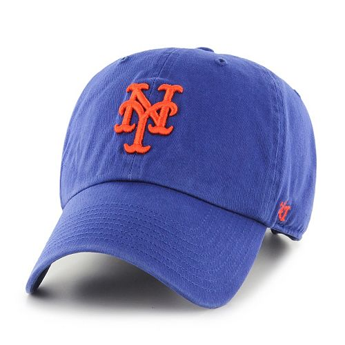 New York Mets Garment Washed Baseball Cap