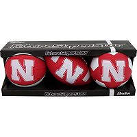 Baden Nebraska Cornhuskers Micro Ball Set