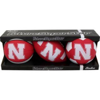 Baden Nebraska Cornhuskers Micro Ball Set