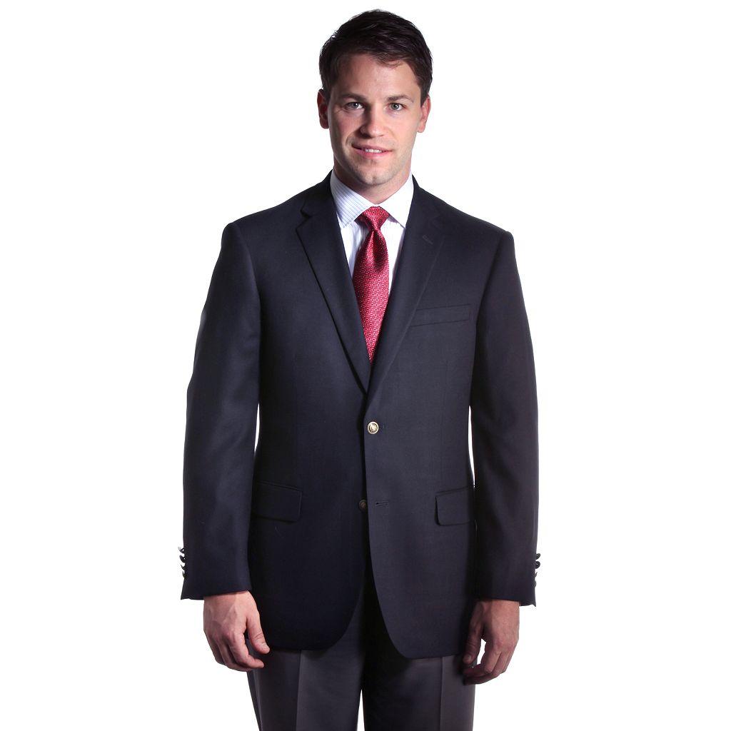 Big & Tall Jean-Paul Germain Hopsack Blazer
