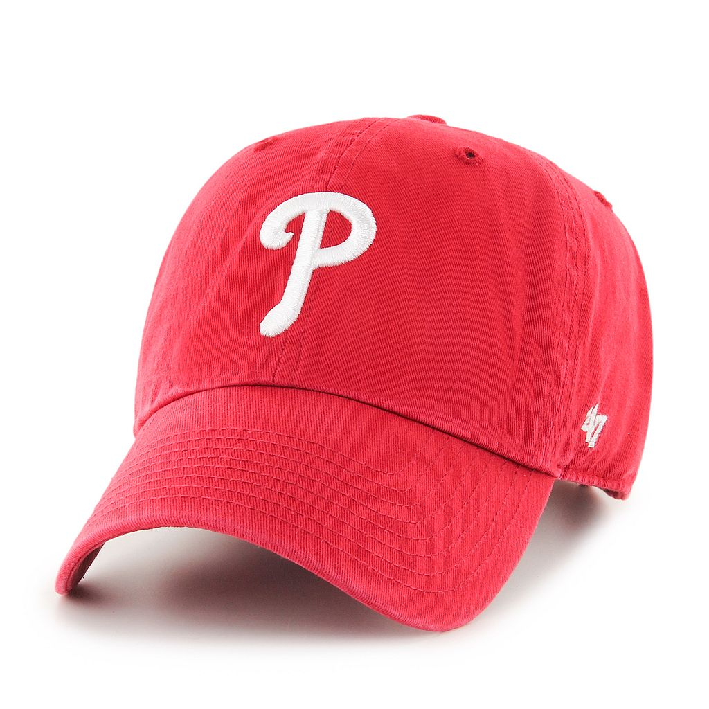 Adult Philadelphia Phillies Garment Washed Baseball Cap