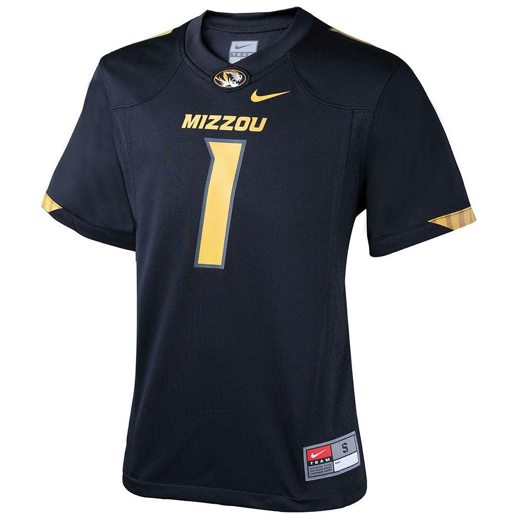 Boys 8-20 Nike Missouri Tigers Replica Football Jersey