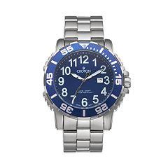 Croton Men's Deep Sea Stainless Steel Watch