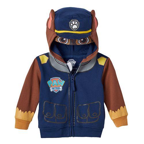 Toddler Boy Paw Patrol Chase Costume Hoodie