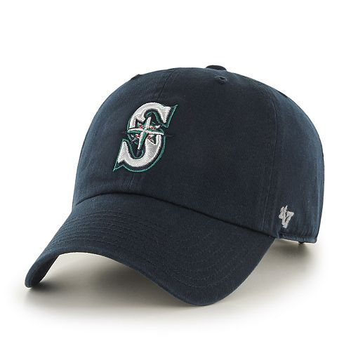 Men's '47 Brand Seattle Mariners Clean Up Home Cap