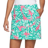 Women's Loudmouth Golf Banana Beach Skort