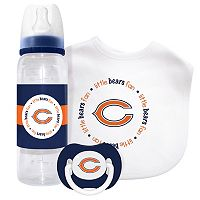 Baby Fanatic Chicago Bears 3-Piece Gift Set