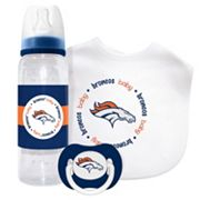 Baby Fanatic Denver Broncos 3 pc Gift Set