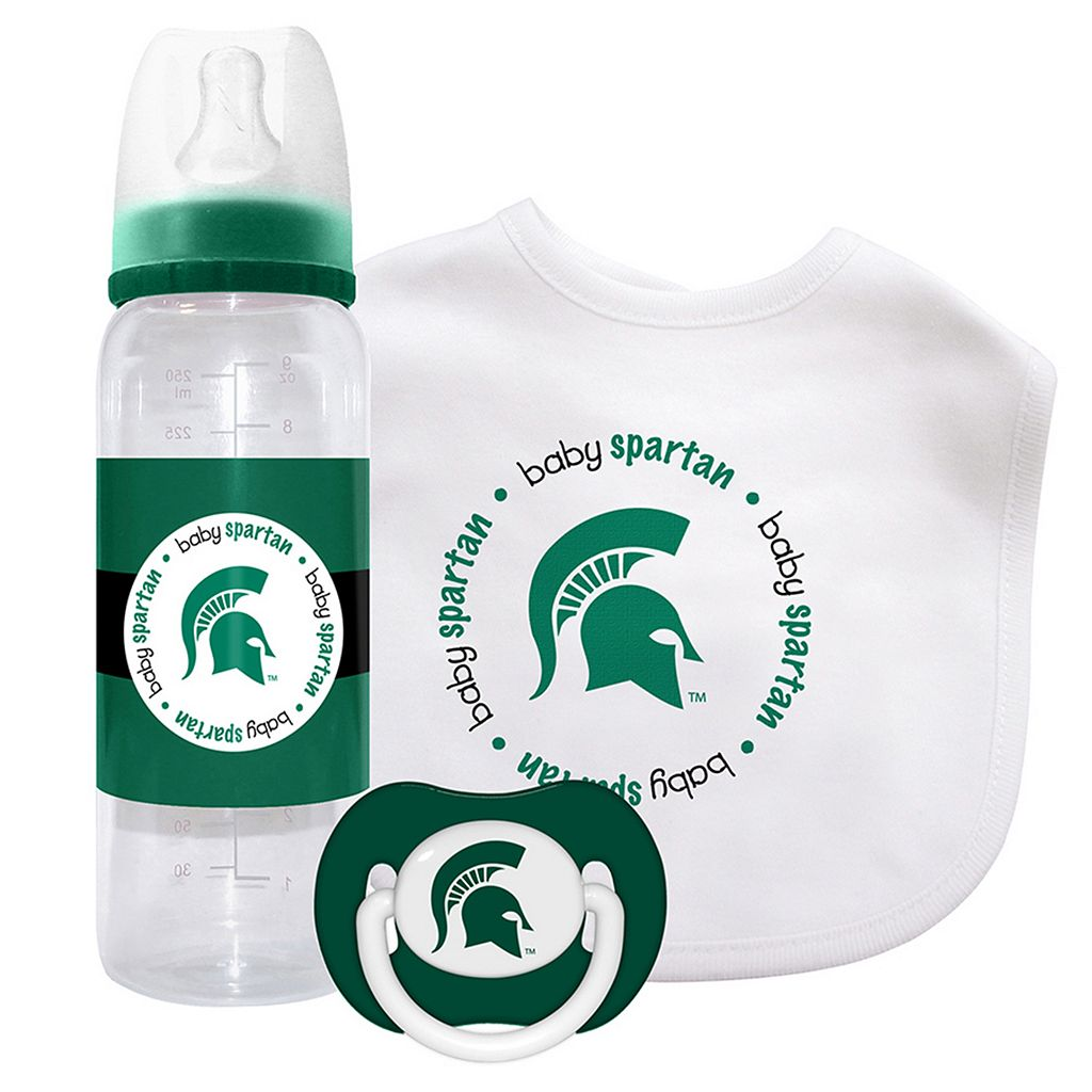 Baby Fanatic Michigan State Spartans 3-Piece Gift Set