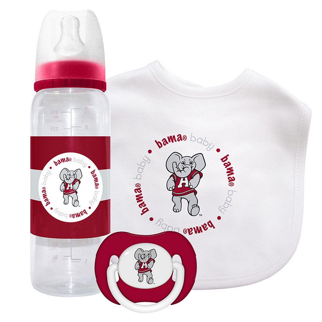 Baby Fanatic Alabama Crimson Tide 3-Piece Gift Set