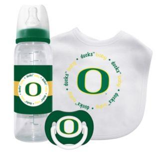 Baby Fanatic Oregon Ducks 3-Piece Gift Set