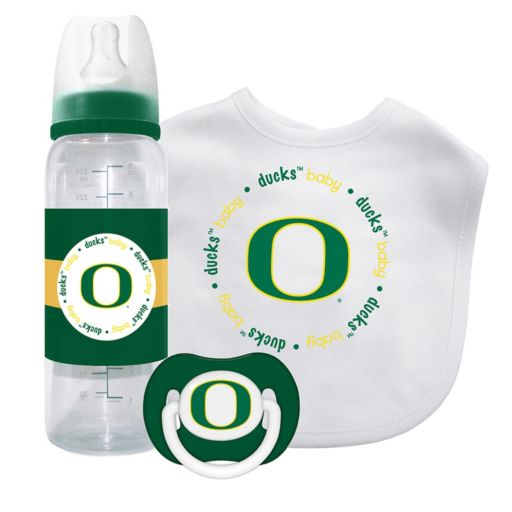 Baby Fanatic Oregon Ducks 3-Piece Gift Set