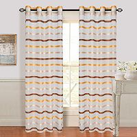 Portsmouth Home 2-pack Arla Striped Window Curtains
