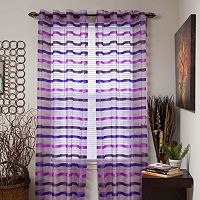 Portsmouth Home 2-pk. Arla Striped Window Curtains