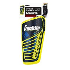 Franklin Sports Field Master Shin Guard & Sleeve Set