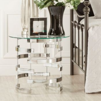 HomeVance Kaden Open Base End Table