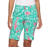 Women's Loudmouth Golf Banana Beach Bermuda Shorts