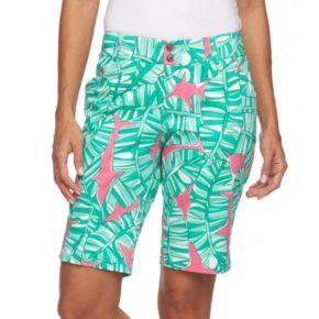 Women's Loudmouth Golf Banana Beach Bermuda Shorts