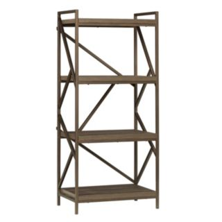 HomeVance Adelaide Geometric 4-Shelf Tower