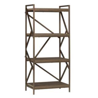 HomeVance Adelaide Geometric 4-Shelf Tower