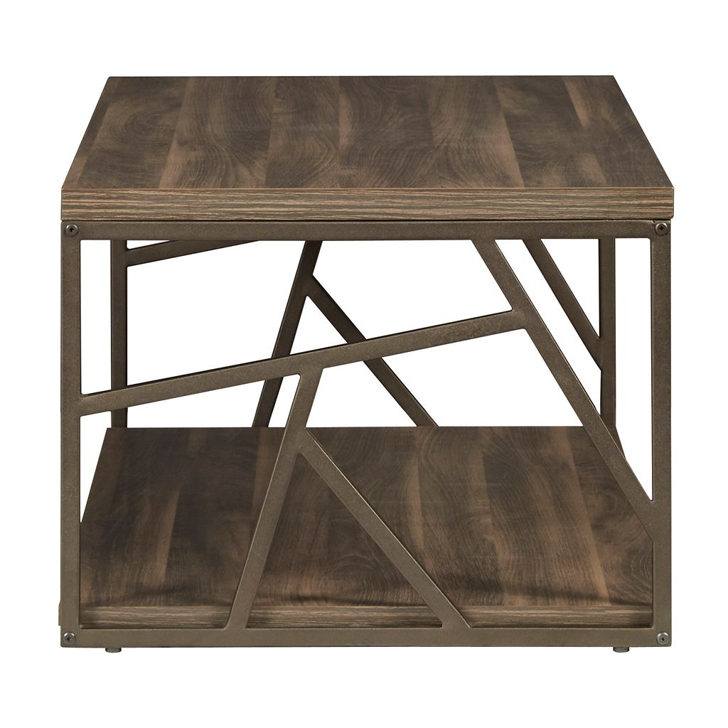 HomeVance Adelaide Geometric Coffee Table