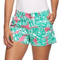 Women's Loudmouth Golf Banana Beach Mini Golf Shorts