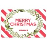 Merry Christmas Wreath Gift Card