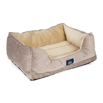 Serta Orthopedic Foam Cuddler Pet Bed