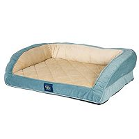 Serta Orthopedic Foam Quilted Couch Pet Bed