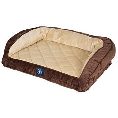 Serta Ortho Foam Quilted Couch Pet Bed