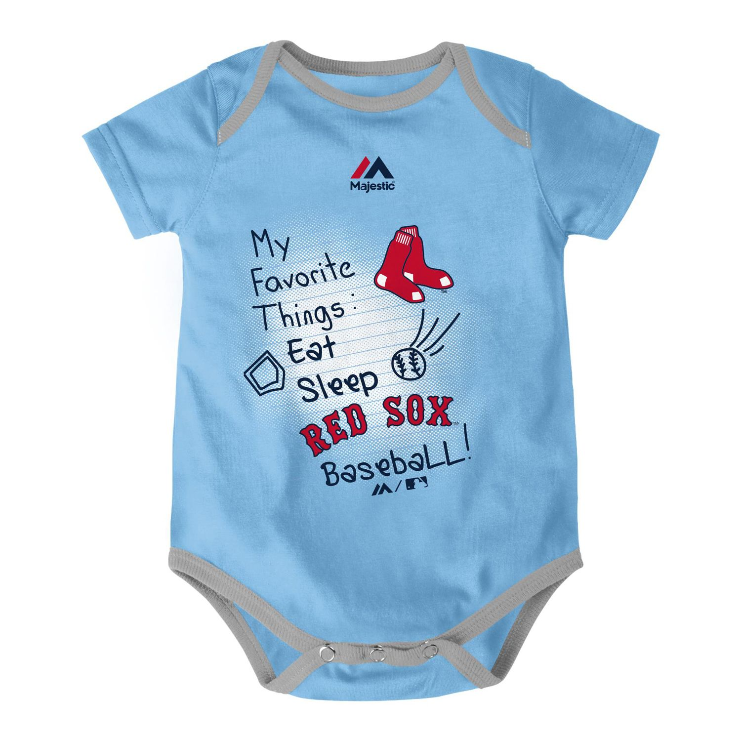 Boston Red Sox Baby Clothing