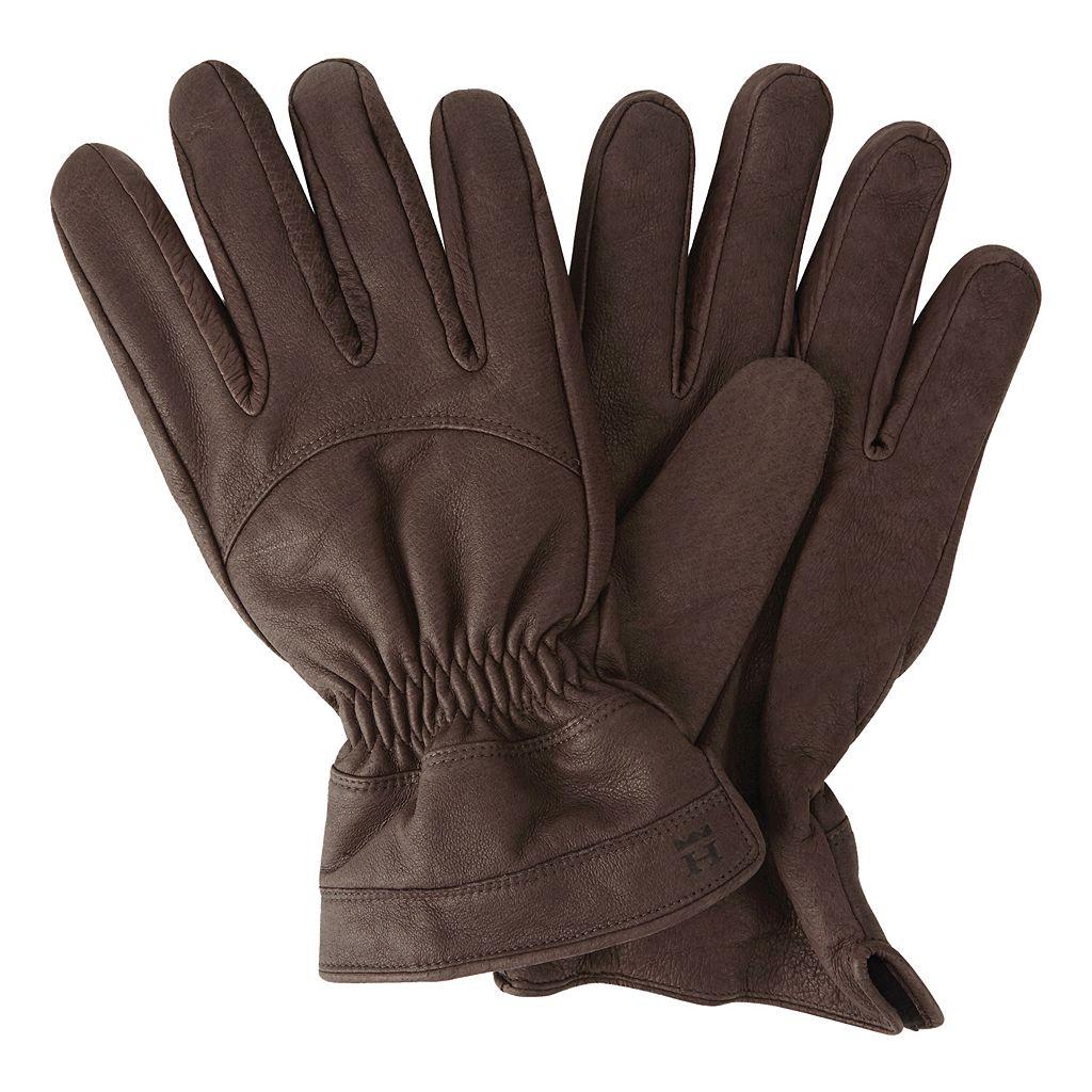 Men's Haggar Leather Gloves
