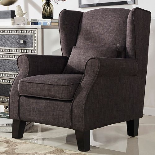 HomeVance Noma Wingback Arm Chair