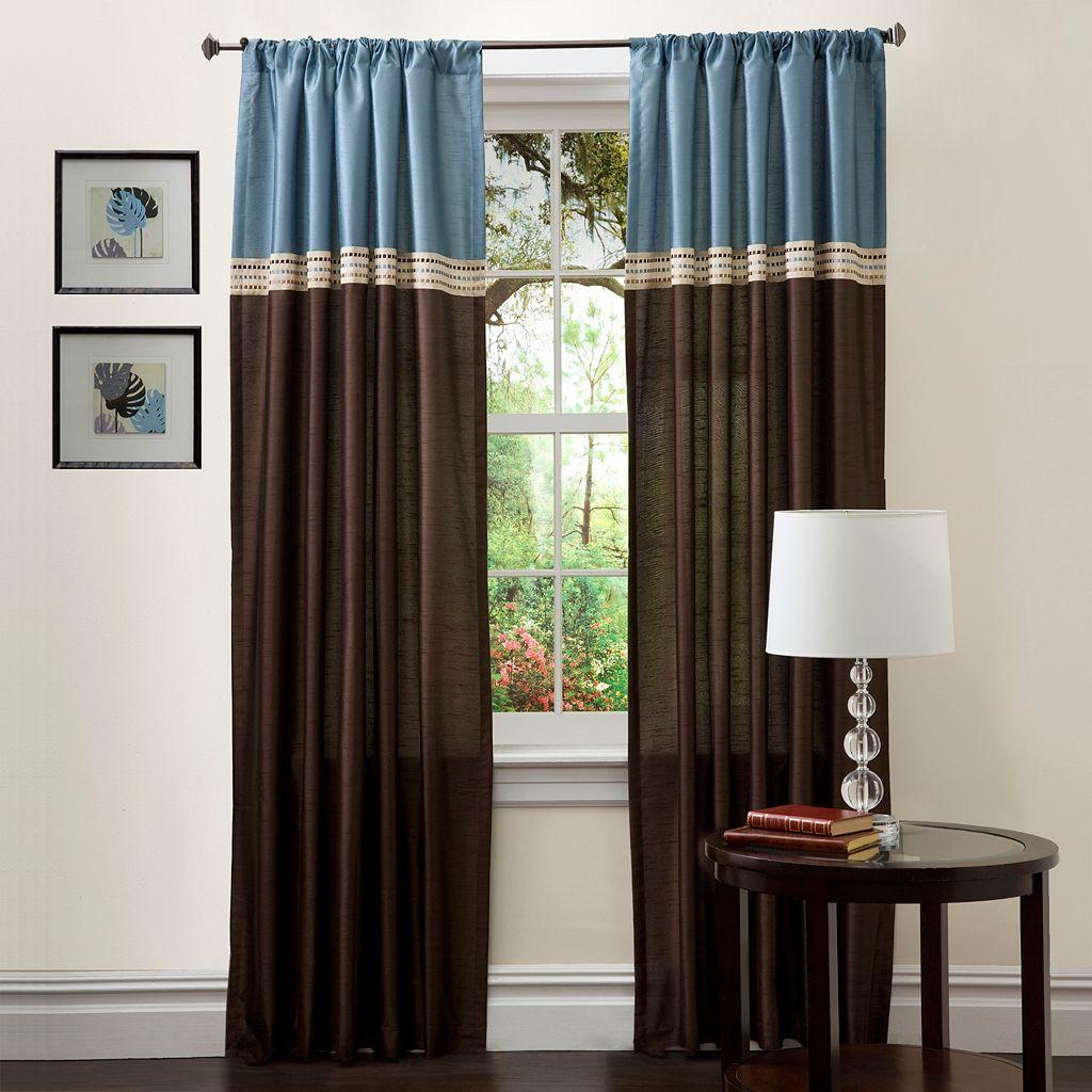 Lush Decor Terra Window Curtain Set