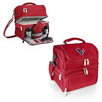 Picnic Time Houston Texans Pranzo 7-Piece Insulated Cooler Lunch Tote Set