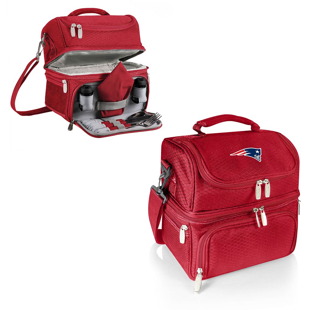 Picnic Time New EnglandPatriots Pranzo 7-Piece Insulated Cooler Lunch Tote Set