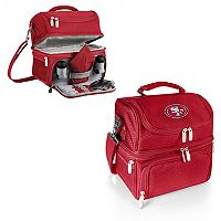 Picnic Time San Francisco 49ers Pranzo 7 pc Insulated Cooler Lunch Tote Set
