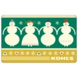 Snowman Family Gift Card