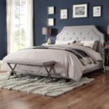HomeVance Eden Button Tufted Bed