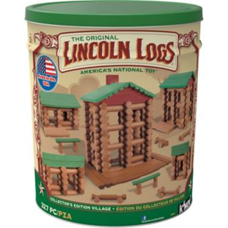 Lincoln Logs 327-pc. Collector's Edition Village Building Set