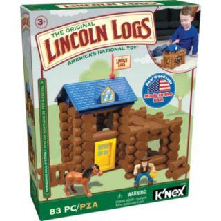 Lincoln Logs 83-pc. Horseshoe Hill Station Building Set