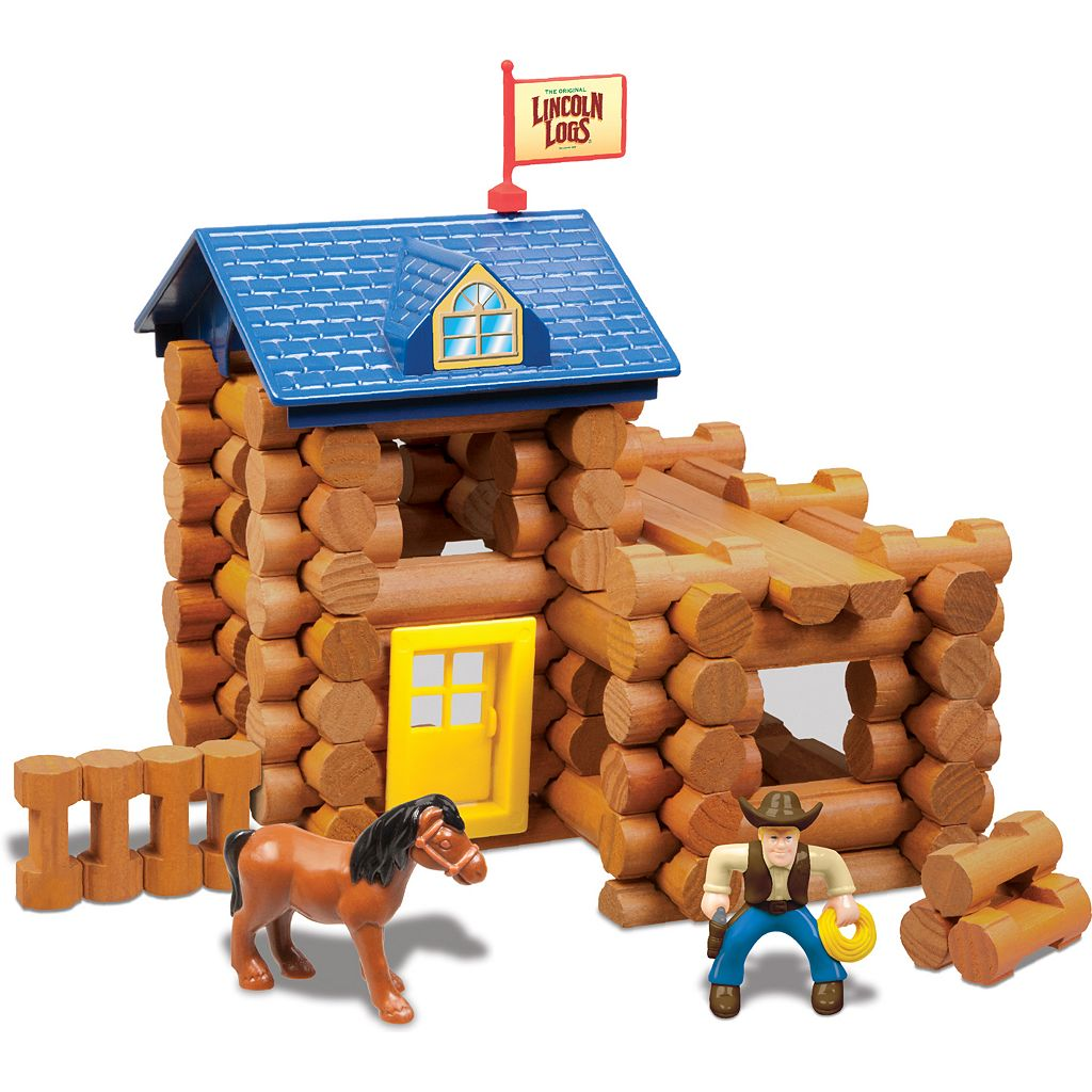 Lincoln Logs 83-pc. Horseshoe Hill Station Building Set