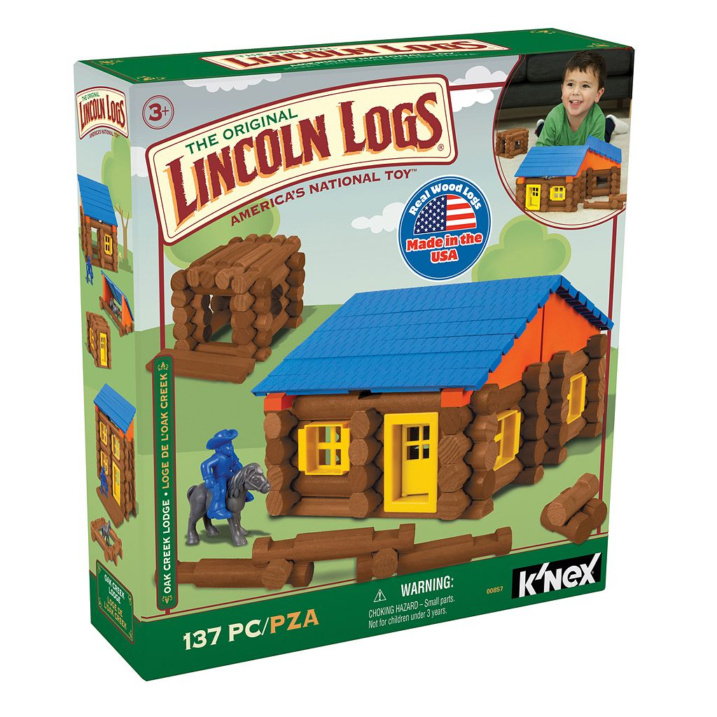 Lincoln Logs 137-pc.Oak Creek Lodge Building Set