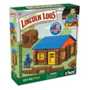 Lincoln Logs 137-pc.Oak Creek Lodge Building Set