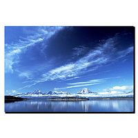 ''A Grand Teton Vista'' Canvas Wall Art
