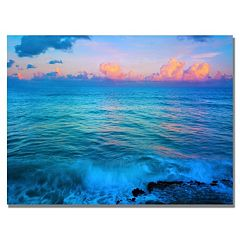 ''St. Marten's Sunset'' Canvas Wall Art