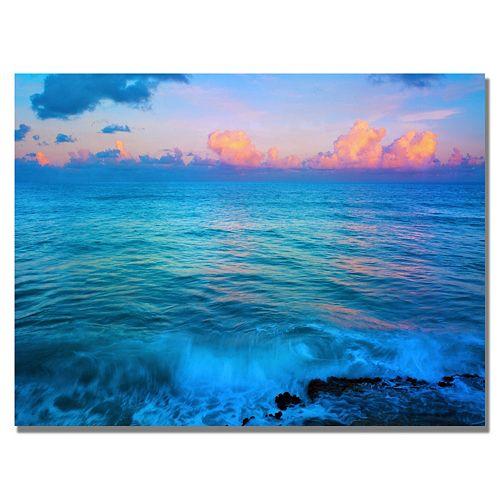 ''St. Marten's Sunset'' Canvas Wall Art