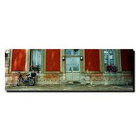 ''Scooter in Versailles'' Canvas Wall Art