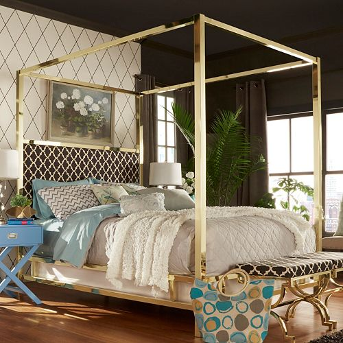 HomeVance Barton Hills 83'' Canopy Bed