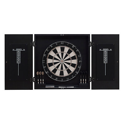 American Heritage Billiards Dart Board Cabinet 8-piece Set